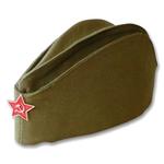 Пилотка армейская со звездой Красной Армии