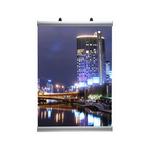 Аллюминиевый плакатный профиль (30 мм), 0,6 м (UPC00SN060) арт.03-040