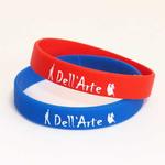 Силиконовые браслеты для танцевального клуба Дельарте